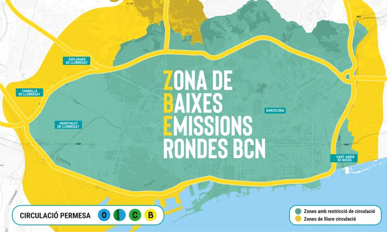 Nueva ZBE Barcelona 2020