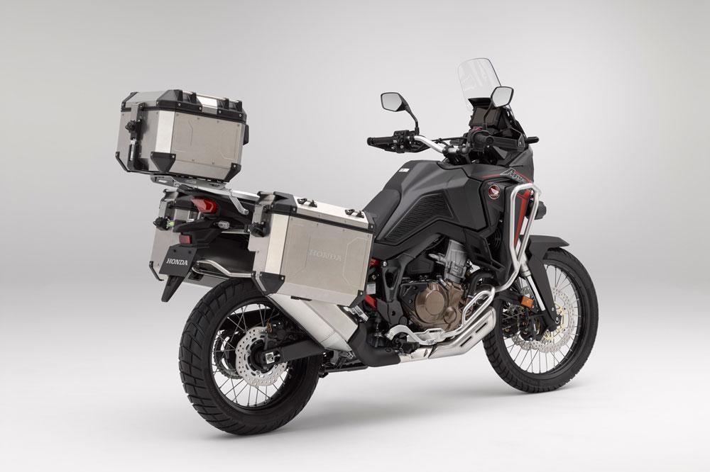 Honda dispone de un completo conjunto de accesorios para la nueva Honda Africa Twin