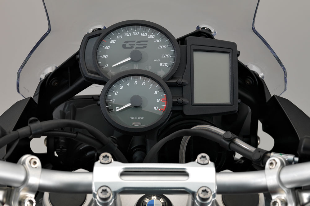 Cuadro de mandos de la BMW F 700 2016