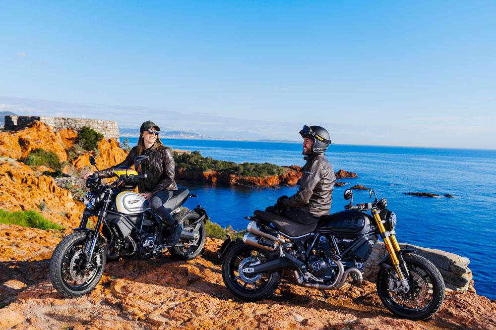 Ducati Scrambler PRO y Sport PRO