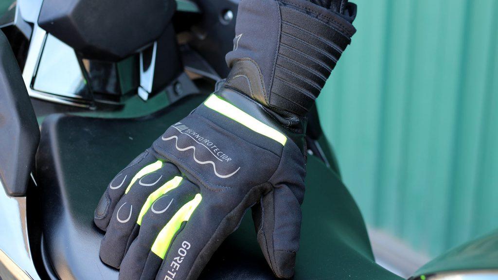 guantes moto seguridad