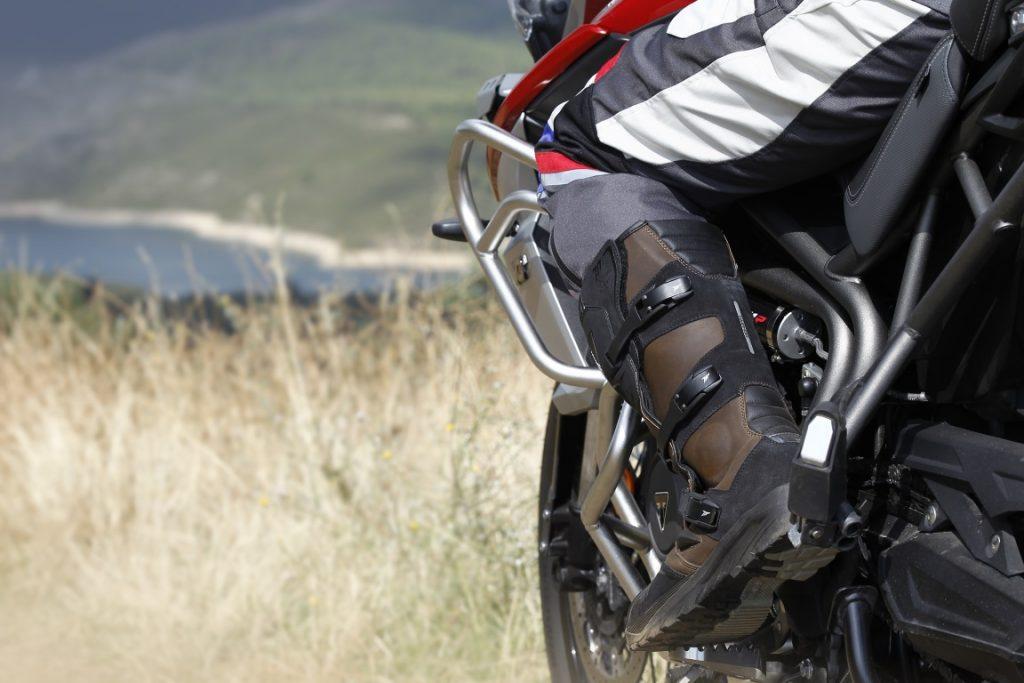 Botas para moto touring