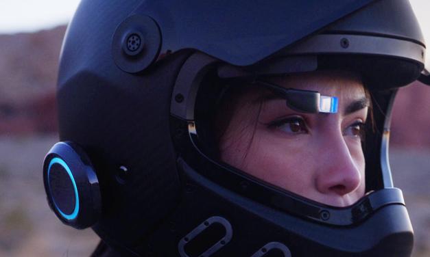 EyeRide: así es el innovador sistema GPS 'head-up display' para tu casco