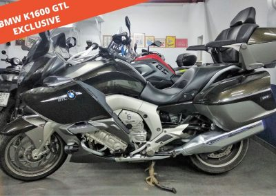 BMW K 1600 GTL Exclusive 2015 – 23.000 KM – 16.900 €