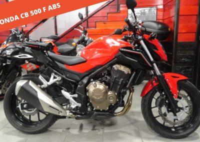 Honda CB 500 F ABS 2018 – 4.972 KM – 4.900 €