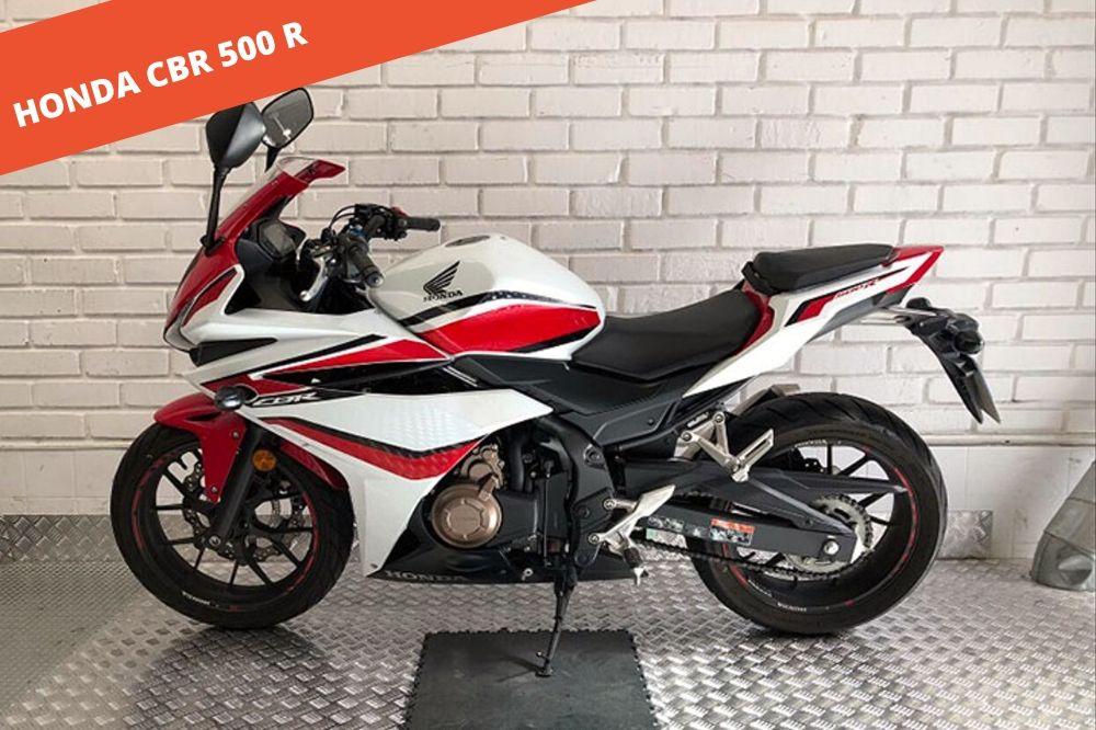 Honda CBR 500 R 2018 – 10.569 KM – 6.200 €