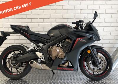 Honda CBR 650F 2017 – 34.240 KM – 7.000 €