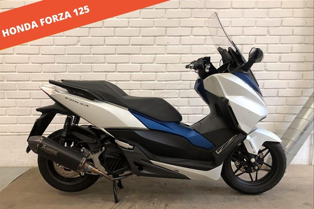 Honda Forza 125  2015 – 21.613 KM – 3.900 €