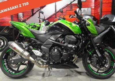 Kawasaki Z 750 2009 – 55.263 KM – 3.600 €