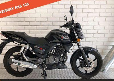 Keeway RKS 125 2019 – 11.644 KM – 1.400 €
