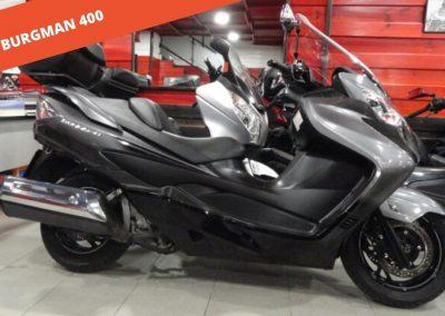 Suzuki Burgman 400 2012 – 24.434 KM – 3.400 €