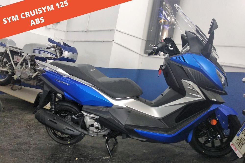 Sym Cruisym 125 ABS 2020 – 722 KM – 3.499 €