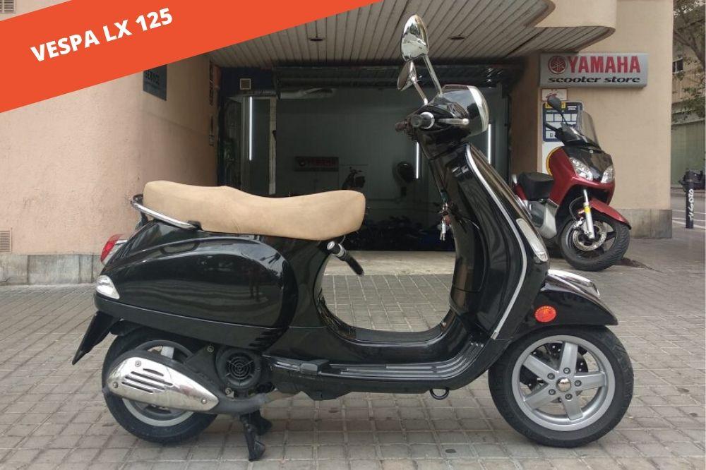 Vespa LX 125 2011 – 5.800 KM – 1.795 €