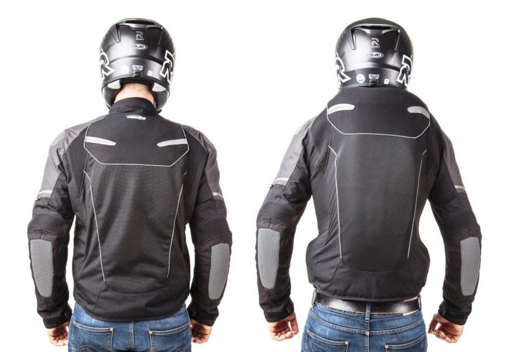 Chaqueta con airbag para moto
