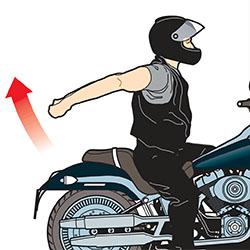 ejercicios prevenir dolor de brazos motorista