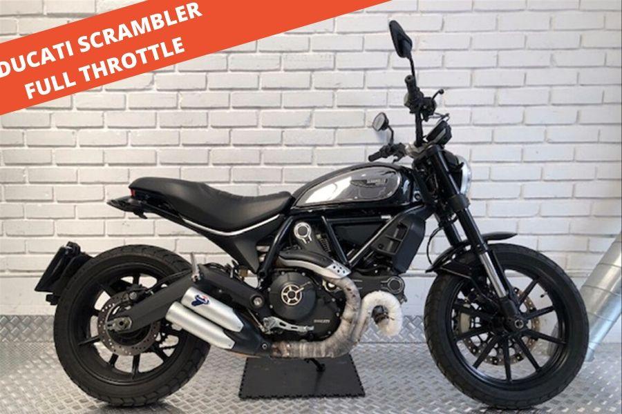 Ducati Scrambler Full Throttle 2017- 18.308 KM – 7.800 €