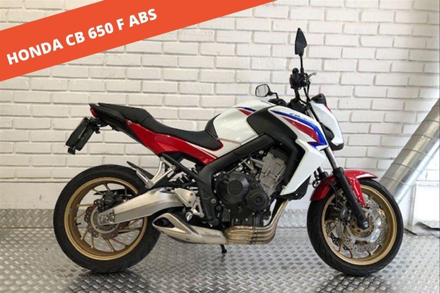Honda CB 650 F ABS 2016 – 9.233 KM – 6.500 €