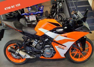 KTM RC 125 2018 – 2.000 KM – 3.500 €