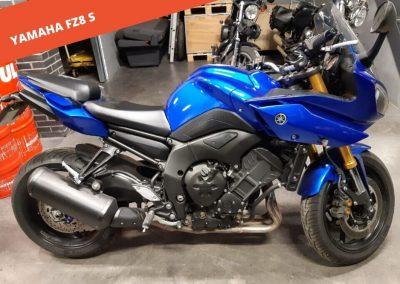 Yamaha FZ8 S 2011 – 56.000 KM – 4.600 €