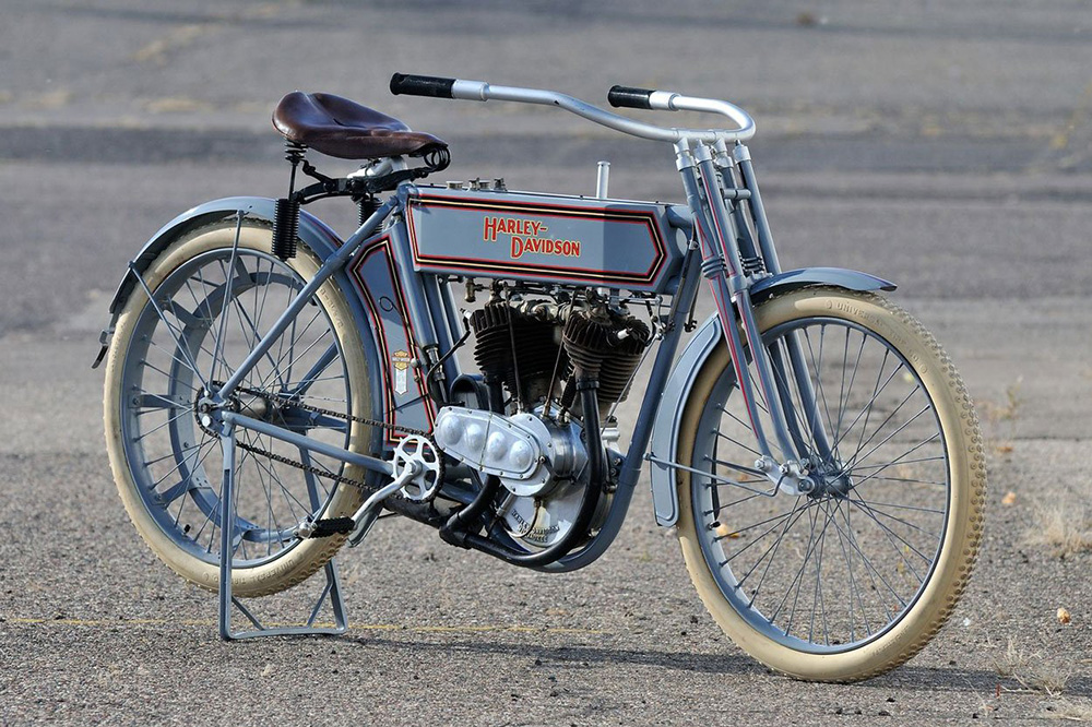 Primera moto Harley Davidson de la historia