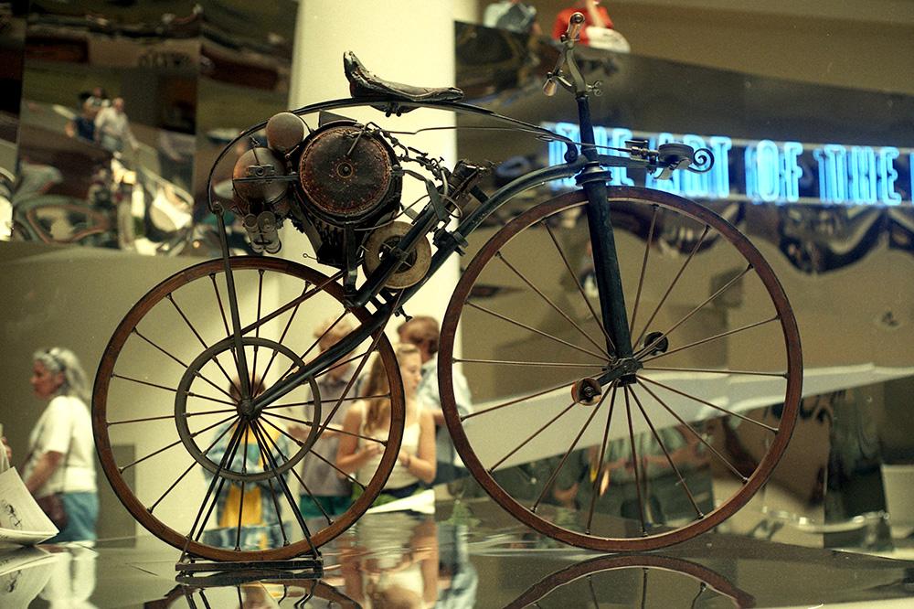 Primer velocípedo de la historia
