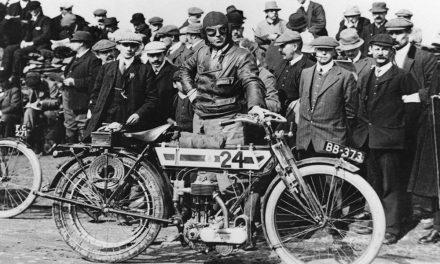 El nacimiento de las primeras motocicletas