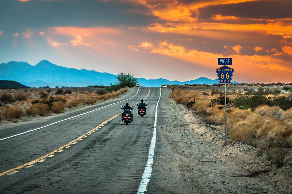 Ruta 66 en moto - EEUU