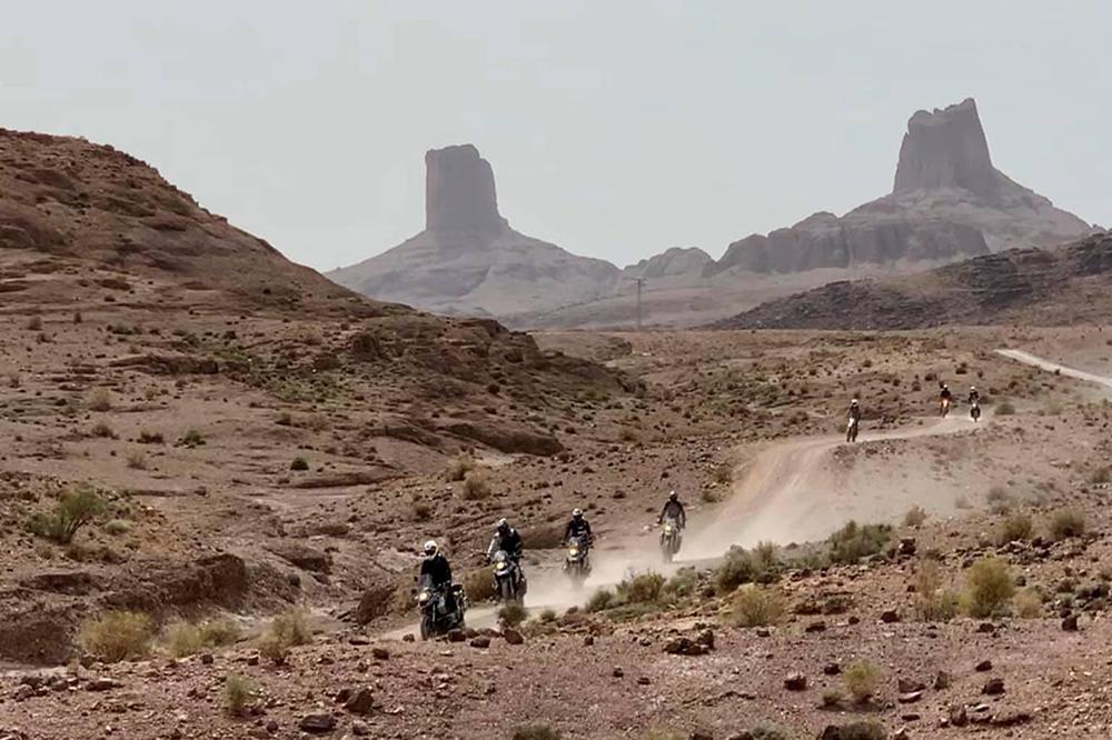 Ruta motera en Marruecos