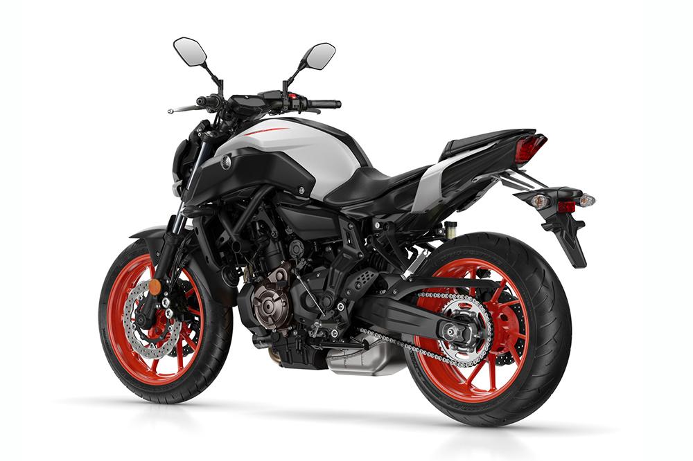 Yamaha MT 07 A2