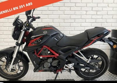 BENELLI BN 251 ABS 2018 – 30.754 KM – 2.300 €