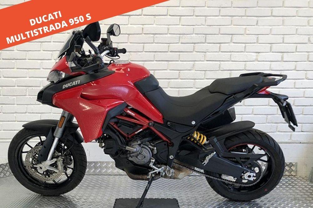 DUCATI MULTISTRADA 950 S 2019 – 9.860 KM – 13.500 €