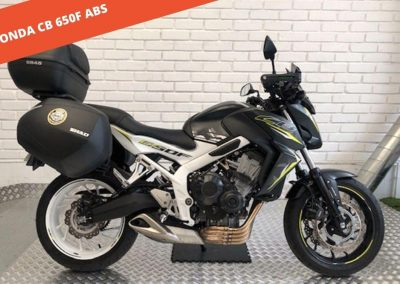 HONDA CB 650F ABS 2016 – 6.216 KM – 5.999 €
