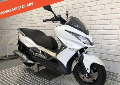 KAWASAKI J125 ABS 2016 – 29.609 KM – 2.600 €