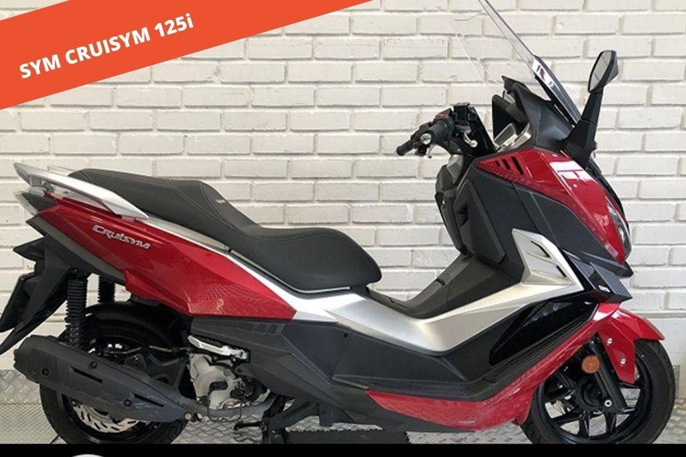 SYM CRUISYM 125i 2019 – 11.924 KM – 2.900 €