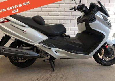 SYM MAXSYM 400i ABS 2013 – 50.332 KM – 3.000 €