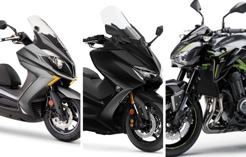 Las motos más vendidas del mercado de segunda mano en agosto