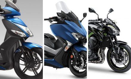 Las motos más vendidas del mercado de segunda mano en septiembre