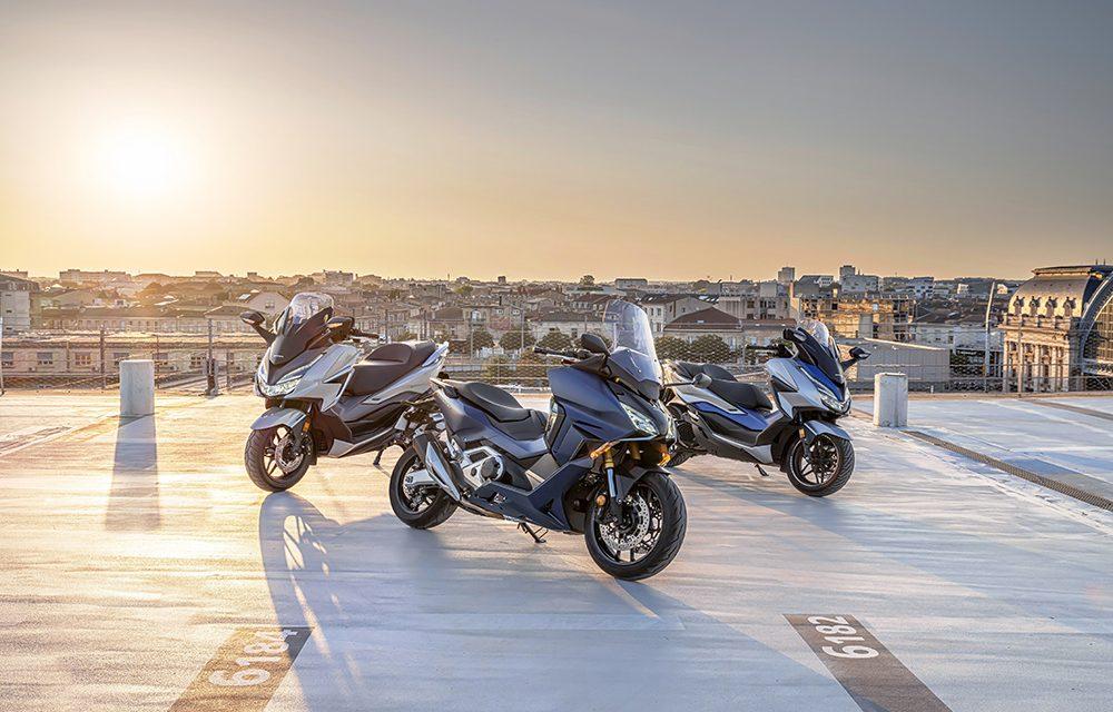 Los nuevos 5 scooters de Honda para moverte por ciudad