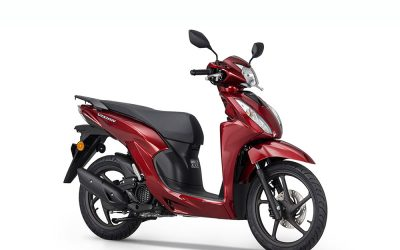 Honda Vision 110: El scooter ideal para moverse entre semáforos