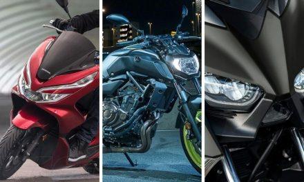 Las motos más vendidas del mercado de segunda mano en noviembre