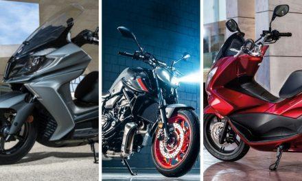 Las motos más vendidas del mercado de segunda mano en enero de 2021